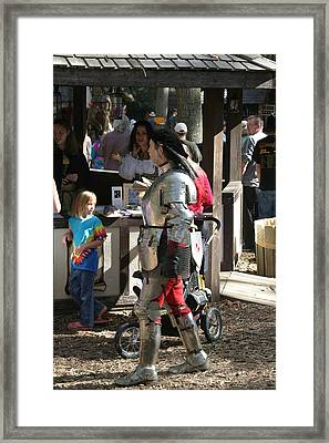 Maryland Renaissance Festival - Jousting And Sword Fighting - 1212149 Framed Print by DC Photographer