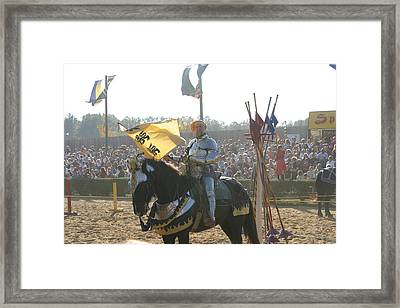 Maryland Renaissance Festival - Jousting And Sword Fighting - 1212150 Framed Print by DC Photographer