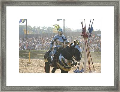 Maryland Renaissance Festival - Jousting And Sword Fighting - 1212172 Framed Print by DC Photographer