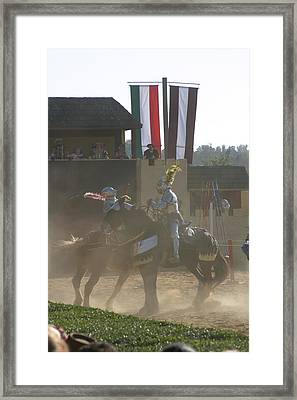 Maryland Renaissance Festival - Jousting And Sword Fighting - 1212180 Framed Print by DC Photographer