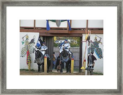 Maryland Renaissance Festival - Jousting And Sword Fighting - 121226 Framed Print by DC Photographer