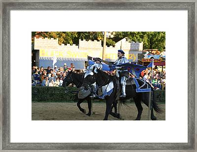Maryland Renaissance Festival - Jousting And Sword Fighting - 121228 Framed Print by DC Photographer
