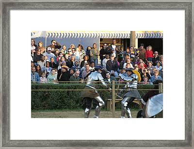 Maryland Renaissance Festival - Jousting And Sword Fighting - 121235 Framed Print by DC Photographer