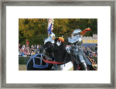 Maryland Renaissance Festival - Jousting And Sword Fighting - 121249 Framed Print by DC Photographer