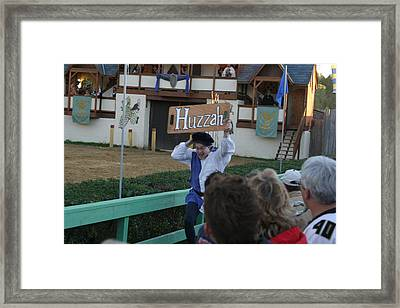 Maryland Renaissance Festival - Jousting And Sword Fighting - 12127 Framed Print by DC Photographer