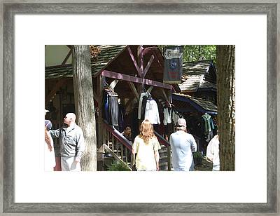 Maryland Renaissance Festival - Merchants - 121264 Framed Print by DC Photographer