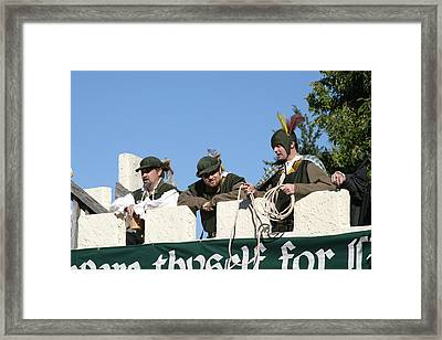 Maryland Renaissance Festival - Open Ceremony - 12122 Framed Print by DC Photographer