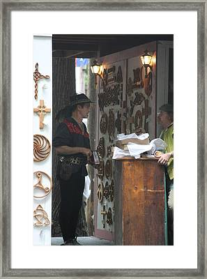 Maryland Renaissance Festival - People - 121294 Framed Print by DC Photographer