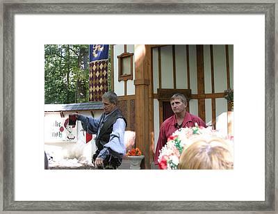 Maryland Renaissance Festival - Puke N Snot - 121211 Framed Print by DC Photographer