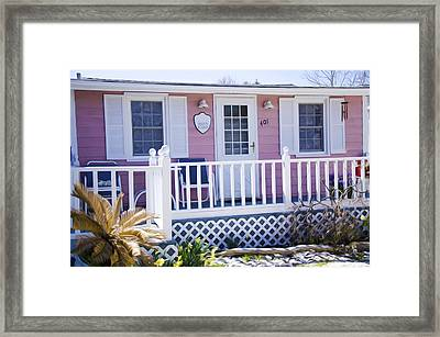 Mary's Kitchen House Framed Print by Lanjee Chee