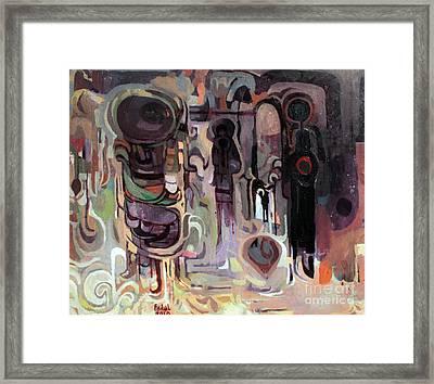 Maseed Maseed 10 Framed Print by Mohamed Fadul
