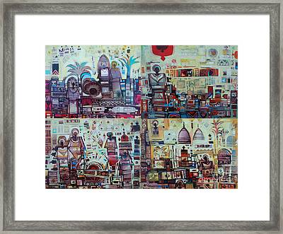 Maseed Maseed 3 Framed Print by Mohamed Fadul