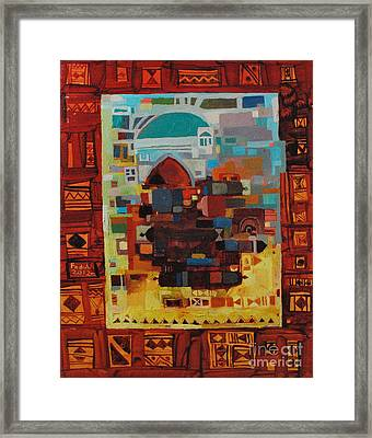 Maseed Maseed 8 Framed Print by Mohamed Fadul