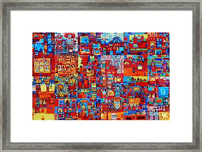 Maseed Maseed Framed Print by Mohamed Fadul