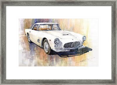 Maserati 3500gt Coupe Framed Print by Yuriy  Shevchuk