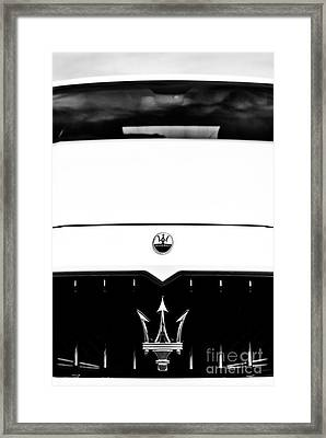Maserati Ghilbli Framed Print by Tim Gainey