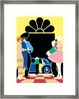 Masked Ball Framed Print by Brian James