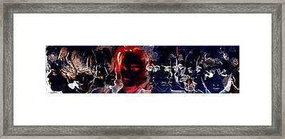 Masked Ball Part I Framed Print by B J Stehlin