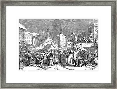 Maslenitsa Celebrations Framed Print by Bildagentur-online/tschanz
