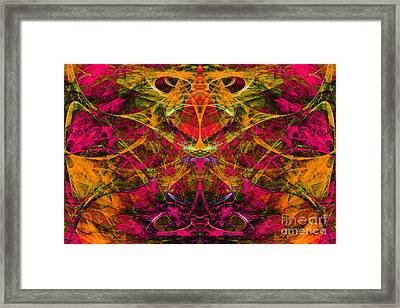 Masquerade 20140128 Framed Print by Wingsdomain Art and Photography