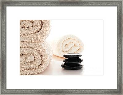 Massage Ready Framed Print by Olivier Le Queinec