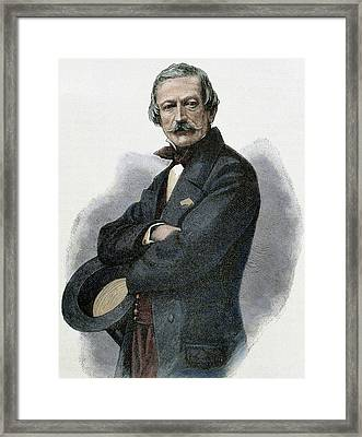 Massimo Taparelli Azeglio, Marquis D ' Framed Print by Prisma Archivo