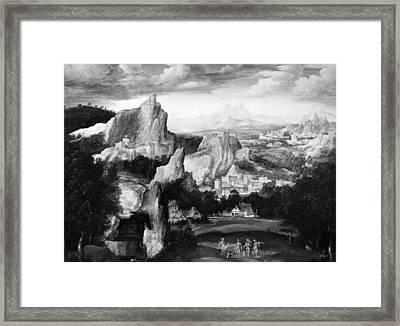 Massys Judgment Of Paris Framed Print by Granger