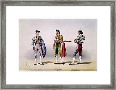 Matadors Framed Print by British Library