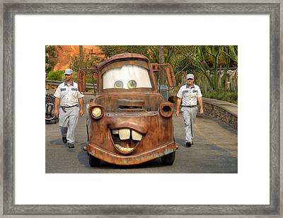 Mater And Friends Framed Print by Ricky Barnard