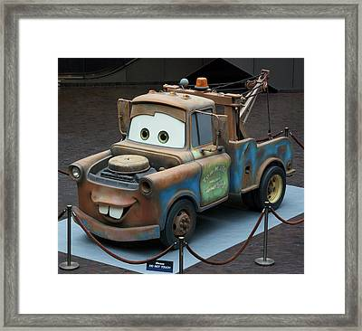 Mater Framed Print by Thomas Woolworth