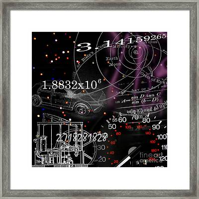 Math Science Invention Framed Print by R Kyllo