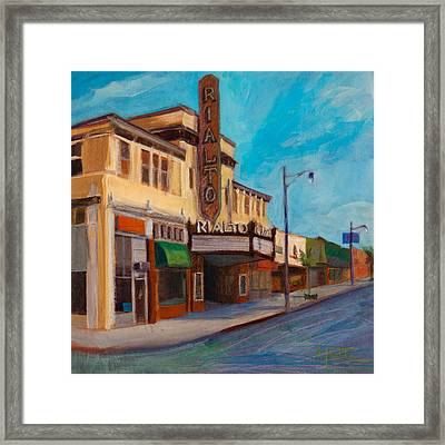 Matinee Framed Print by Athena  Mantle