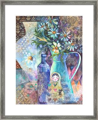 Matrioshka Framed Print by Kate Bedell