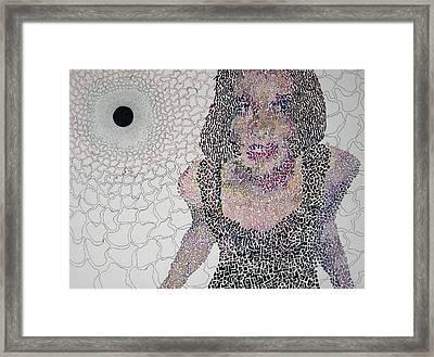 Matrix Framed Print by Amy Mackenzie