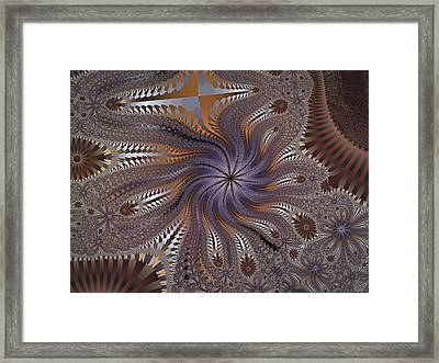 Matrix Machines Framed Print by Nafets Nuarb
