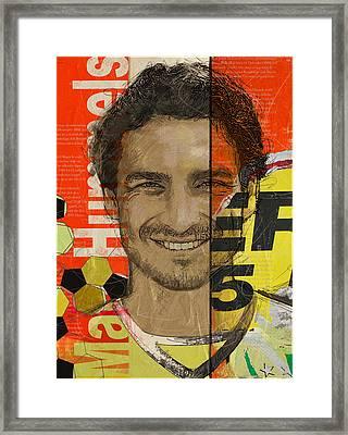 Mats Hummels Framed Print by Corporate Art Task Force