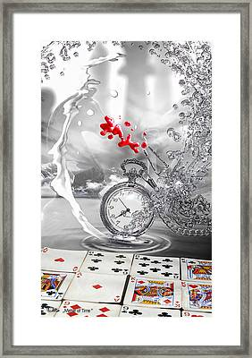 Matter Of Time Framed Print by Mo T