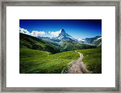 Matterhorn II Framed Print by Juan Pablo De
