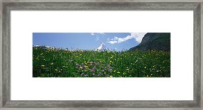 Matterhorn Switzerland Framed Print by Panoramic Images