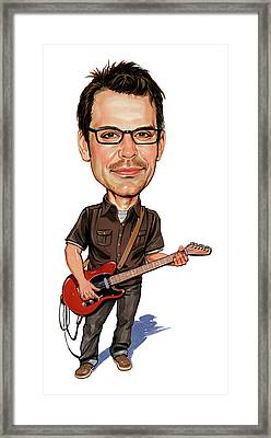 Matthew Good Framed Print by Art