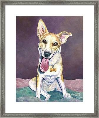 Maude Framed Print by Catherine Garneau