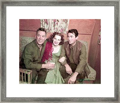 Maureen O'hara Framed Print by Silver Screen