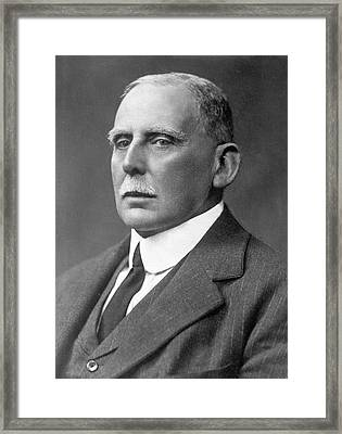 Maurice Fitzmaurice Framed Print by Library Of Congress