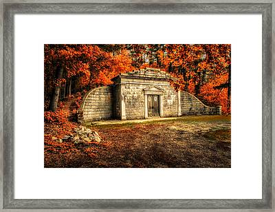 Mausoleum Framed Print by Bob Orsillo