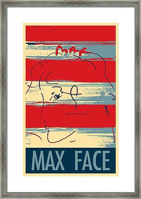 Max Woman In Hope Framed Print by Rob Hans