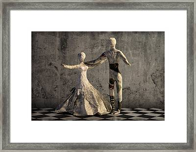 may I ask? Framed Print by Heike Hultsch