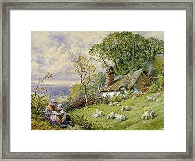 May Time Framed Print by William Stephen Coleman