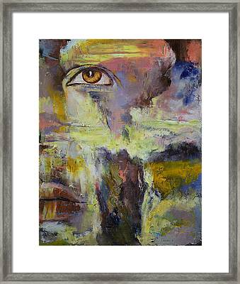Mayan Prophecy Framed Print by Michael Creese
