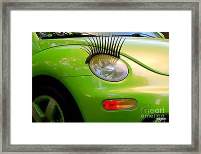 Maybe It's Maybellene Framed Print by Tami Quigley