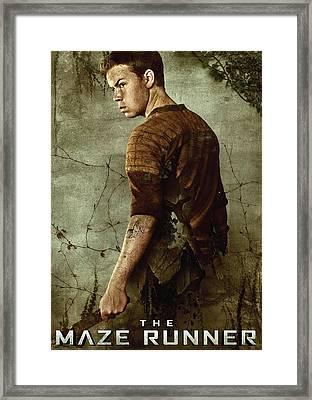 Maze Runner 1  Framed Print by Movie Poster Prints